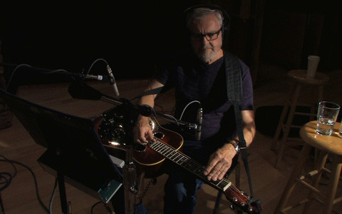 Gary Mortensen at the Recording Studio