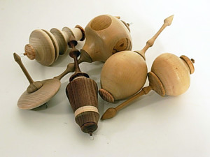 Selection of Hand Crafted Wooden Suspensions by Lowell James Hicks